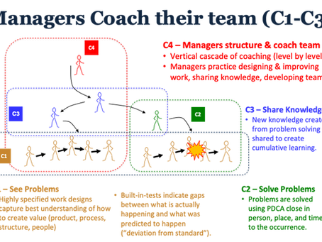 4. Managers Coach their Team for Capabilities 1 - 3 (The Research)