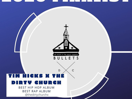 Tim Hicks X The Dirty Church nominated for nominated for multiple Wammie Awards
