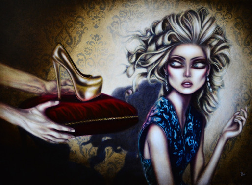 Cinderella and the Magic Shoe Painting by Tiago Azevedo