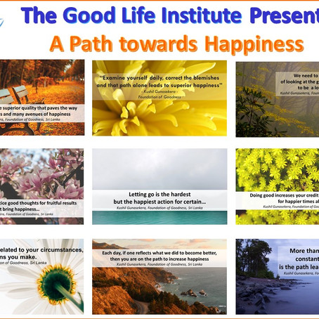 A Path towards Happiness