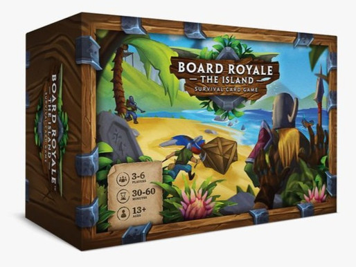Lord of the Games? can you survive Board Royale - The Island? We find out...