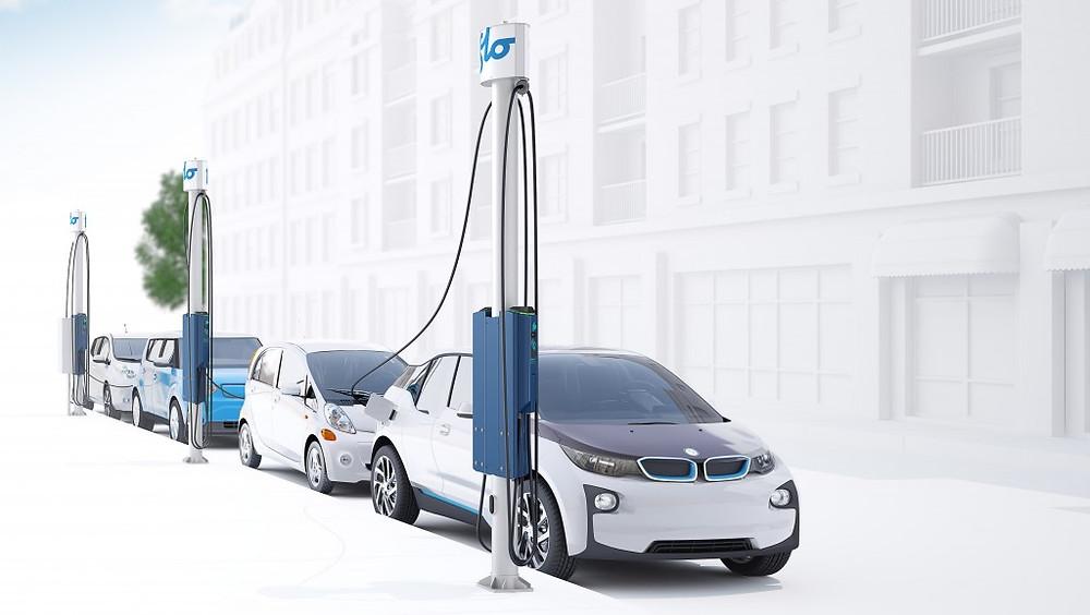 FLO EV charging