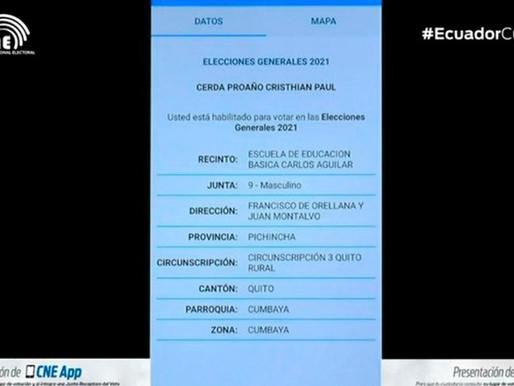 Consejo Nacional Electoral presentó la aplicación móvil CNE app