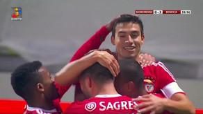 Mágico Gaitán faz um golão ao Moreirense