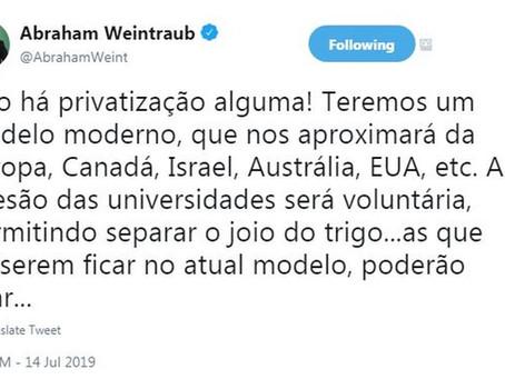 O Economista e as Universidades