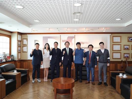 On 30th September, IEOC met President of Dongseo University, Jang Je-guk