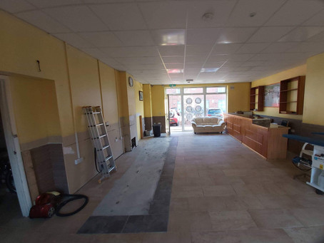 """Dog grooming salon-to-be"" in Ipswich"