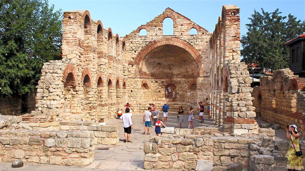 Eglise Nessebar Bulgarie