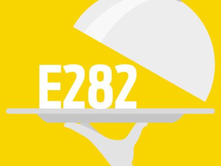 Additif alimentaire E282  : Propionate de calcium