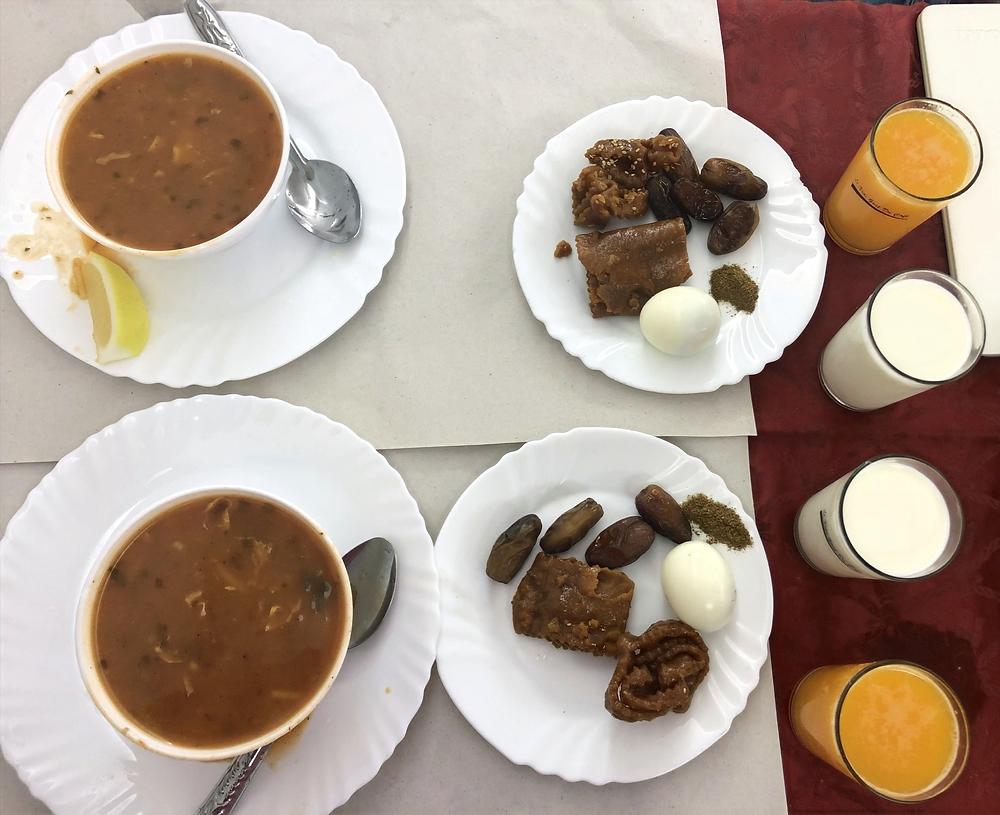 basic Moroccan ftour harira