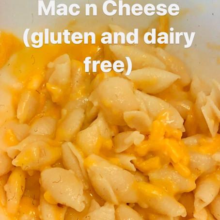 Two Ingredient Gluten/Dairy Free Mac n Cheese