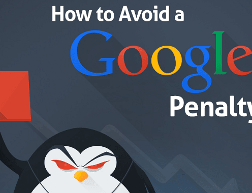 How to Avoid a Google Penalty #infographic