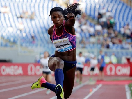 Caterine Ibargüen nominada a mejor atleta del año