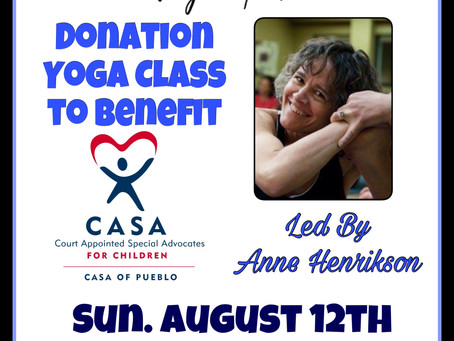 Fountain of Health Yoga Studio to Host Donation Yoga Class to Benefit Casa of Pueblo
