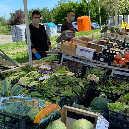 Mercato alimentare, si riparte giovedì 7 maggio