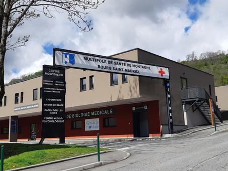 Venez accoucher à la maternité de Bourg-Saint-Maurice en Savoie au pied des Alpes !