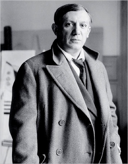 Picasso in 1928, soon after meeting Marie-Thérèse in Paris.