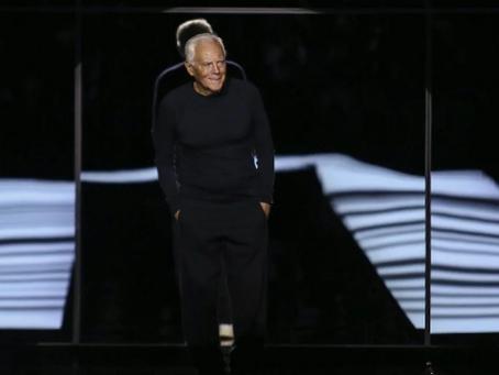 """Giorgio Armani, la lettera al mondo della moda: """"Io non voglio più lavorare così, è immorale."""""""
