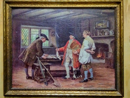 ARC Thrift Find - Frank Moss Bennett Painting