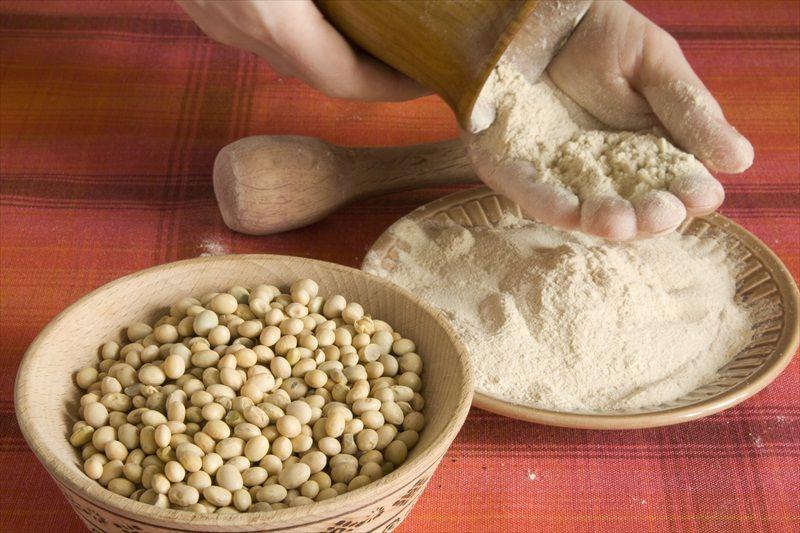 Harina de soja - Nutricionista Vegetariana Karina Herrera