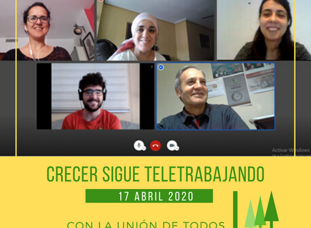 CRECER sigue Teletrabajando ( 17-04-2020 )