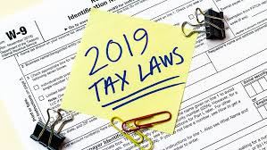 New Tax Season means new laws!