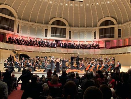 Concert Choir w/Chicago Sinfonietta @ Symphony Center
