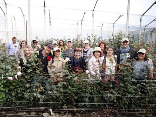 Alexandra Farms Hosts Educational Partner EMC at Garden Rose Farm
