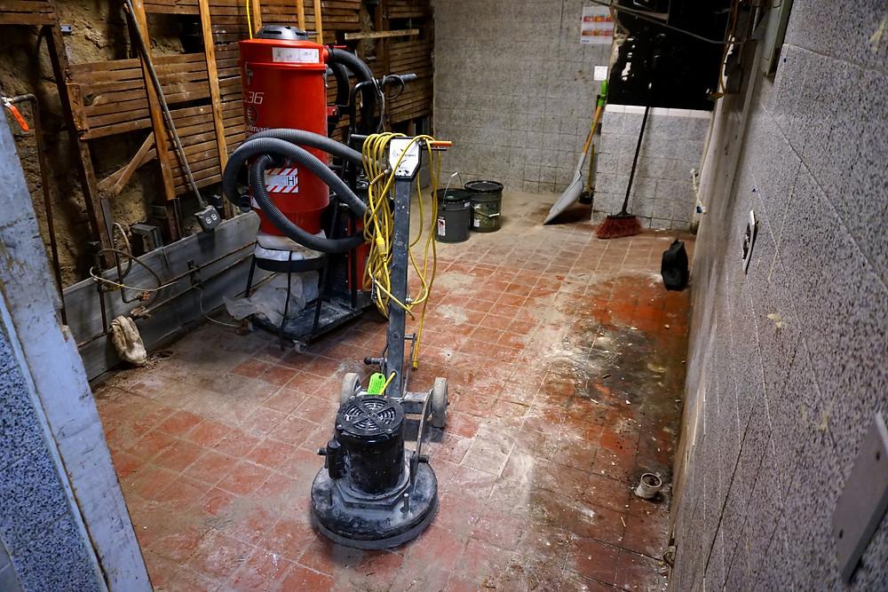 diamond grinding concrete