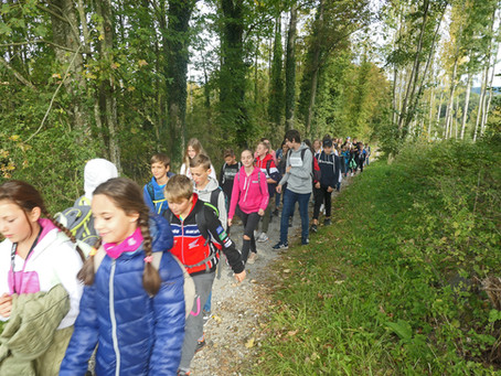 Klassenpatenschaft als Klassen-Partnerschaft am Ganztagswandertag