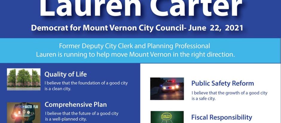 Lauren Carter for City Council-Former Deputy City Clerk Lauren Carter Announces Run for City Council