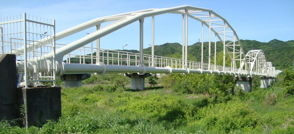 野洲川4号水管橋