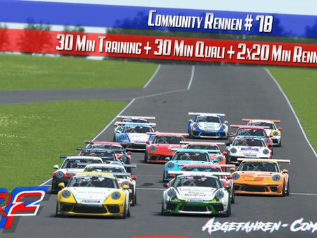 CR #78 | Porsche Supercup @ New Jersey Motorsports Park [31.08.2020]