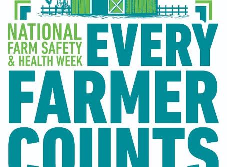 National Farm Safety & Health Week, September 20-26, 2020