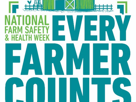 National Farm Safety & Health Week, September 20-26, 2020