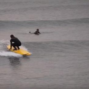 88サーフボード、フィンレス動画