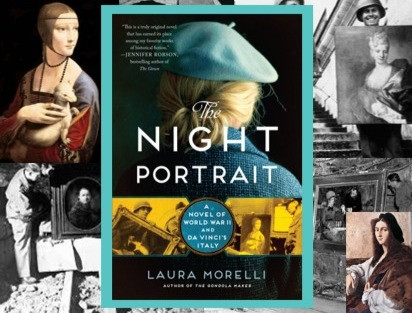The Night Portrait: a fascinating story set during WWII and da Vinci's Italy.