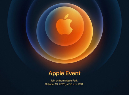'Hi, Speed': Apple anuncia oficialmente o evento do iPhone 12 para 13 de outubro