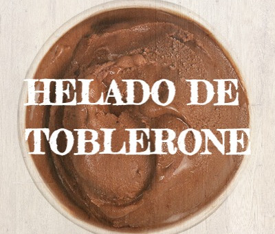 HELADO DE TOBLERONE