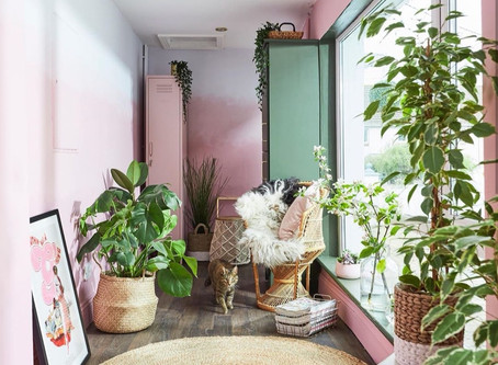 How to DIY Your Own Ombre Wall
