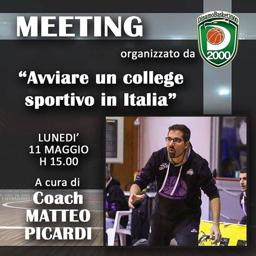 Scuola Telematica parla romano con coach Picardi