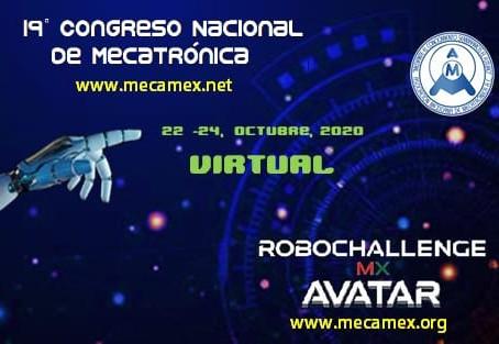 RobochallengeMx Avatar, Torneo en Línea y 19no. Congreso de Mecatrónica.