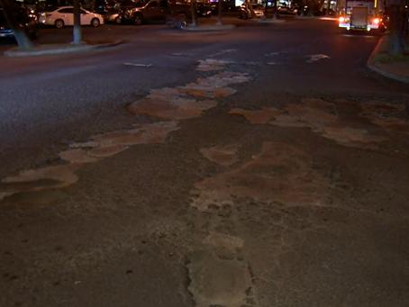 Potholes That Could Swallow A Car