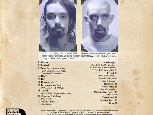 Lobotomie Backcover published