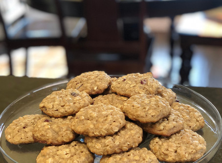 Oatmeal Cookies: A family favorite!