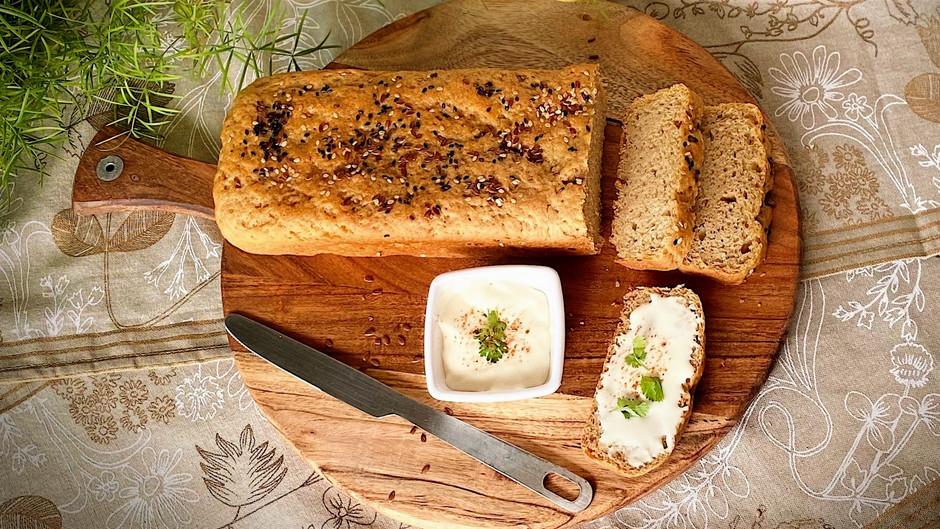 Whole Wheat Multi Seed Bread