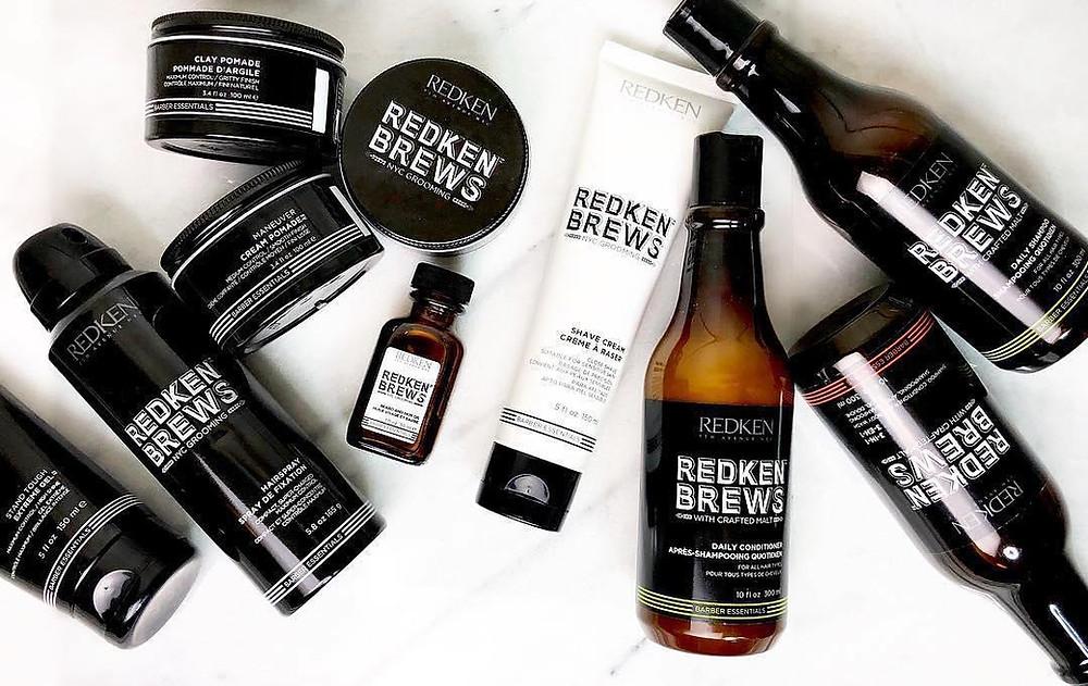 Redken Brews, la gamme de produits pour homme de Redken