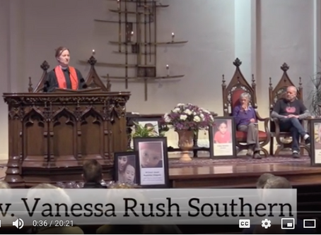 """""""In Memoriam"""" a sermon by the Reverend Vanessa Rush Southern on July 21, 2019"""