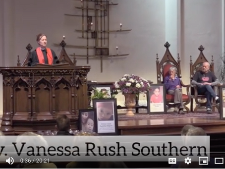 """In Memoriam"" a sermon by the Reverend Vanessa Rush Southern on July 21, 2019"