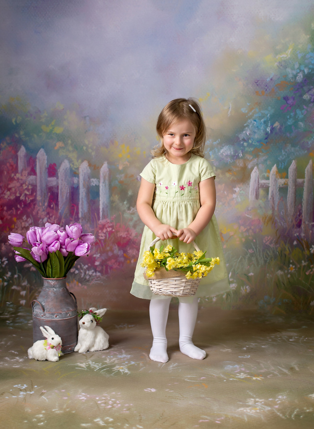child protraits, Easter